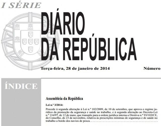 Alterações à Lei 102/2009 (Regime jurídico da Promoção da